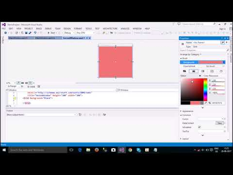 WPF 101 #3 Window || How to Open New Window And Close Current Window