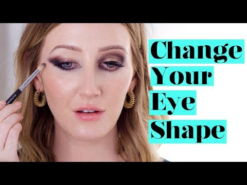 HOW TO CHANGE YOUR EYE SHAPE With Eyeshadow | Sharon Farrell