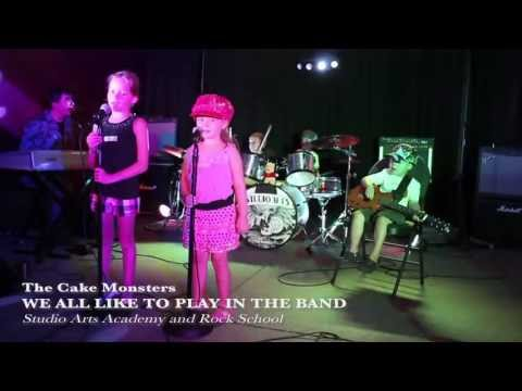 The Cake Monsters - We All Like to Play in the Band