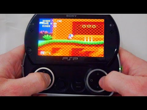 Sony PSP Go - The Ultimate Retro Gaming Machine