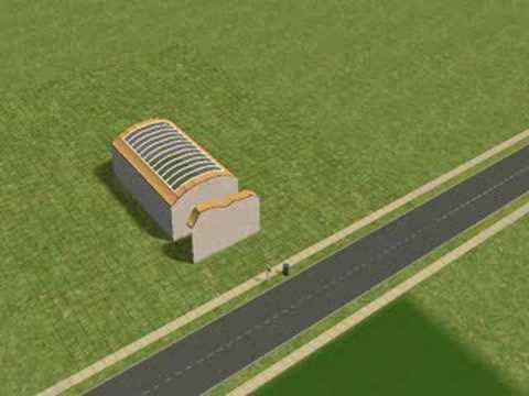 the sims 2 curved roofs