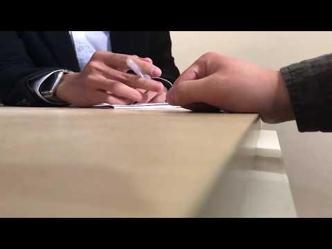 Gay Interviewer Flirting A Candidate