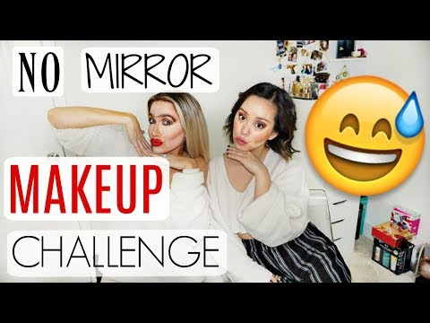 5 MINUTE NO MIRROR MAKEUP CHALLENGE FT. SEREIN WU