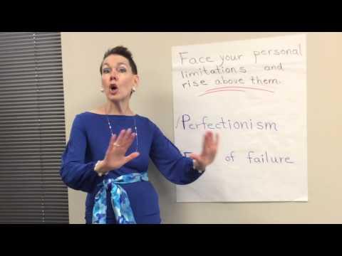 Facing personal limitations