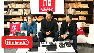 Hardware and Accessories Overview – Nintendo Treehouse: Live with Nintendo Switch