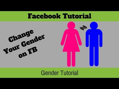 how to change gender on facebook Latest Version July 2016-How To change gender in facebook