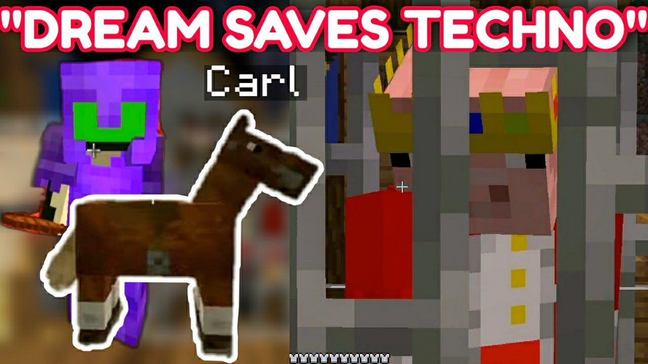 Dream & Punz Saves Technoblade From Being Executed on Dream SMP