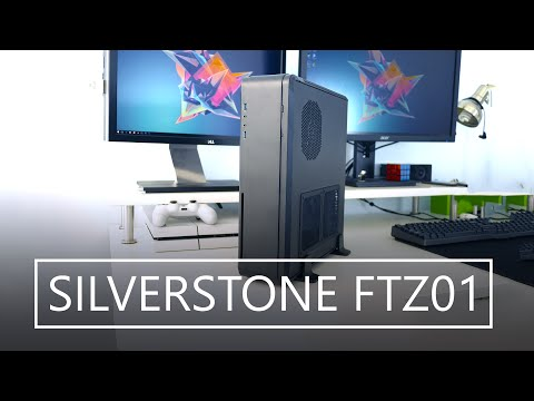 Solid Aluminum Unibody SFF PC Case - SILVERSTONE FORTRESS FTZ01