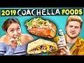Adults Try 2019 VIP Coachella Foods People Vs Food