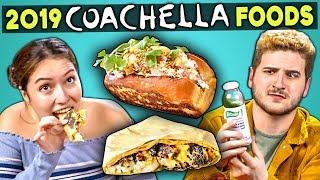 Download Adults Try 2019 VIP Coachella Foods | People Vs. Food Video