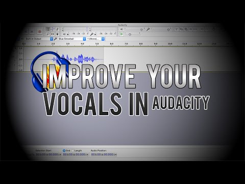 How To Get Clear Audio In Audacity! (Best Settings In Audacity)