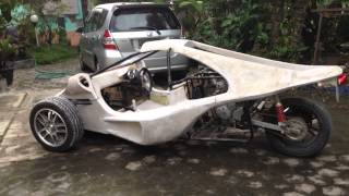 My Home Made Modifikasi Motor Roda Tiga Tiga Sigit Giri P Klaten