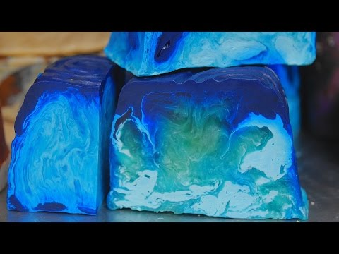 Lush How It's Made: Outback Mate Soap