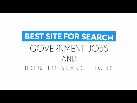 How to search government job quickly and fast | which site is best for government job