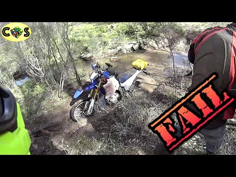 Motorcycle Crash Compilation: Dual Sport Edition