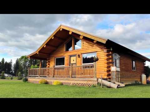 Single Level 24x32 Log Cabin
