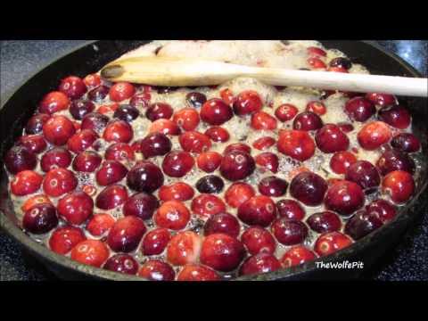 BEST EVER Homemade SPICED Cranberry Sauce Recipe - How to Make Cranberry Sauce