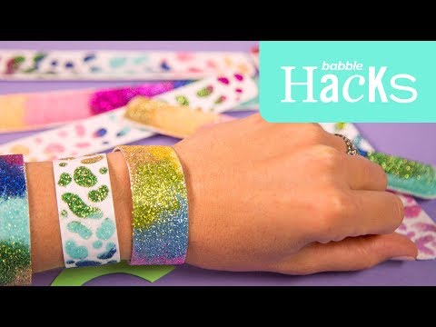DIY '90s Slap Bracelets | Babble Hacks
