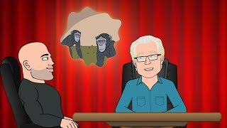 The Hippie And The Chimp Moment - JRE Toon