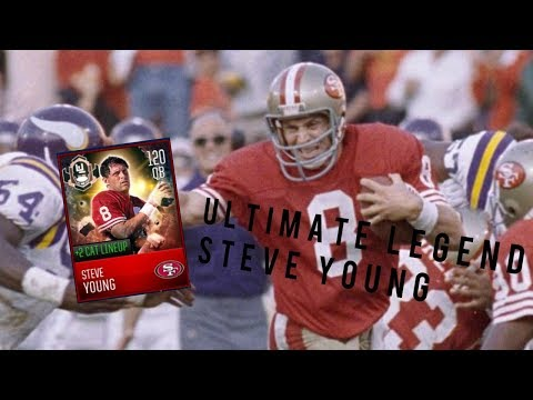 6 MILLION COINS AND 3700 MADDEN CASH FOR $37 ULTIMATE LEGEND STEVE YOUNG GAMEPLAY (Madden Mobile 18)