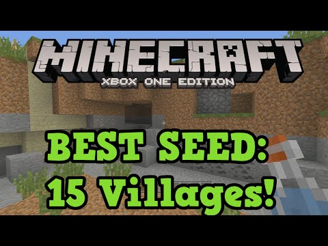 Minecraft Xbox One Best Seed: 15 Villages, 10 Temples and Floating Islands