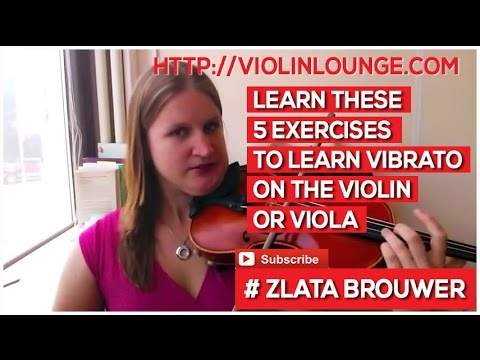 5 Exercises to Learn Vibrato on the Violin or Viola