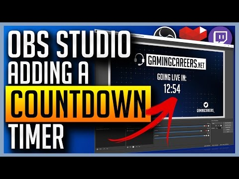 ✅ OBS Studio - Adding Countdown Timers for Twitch or YouTube Gaming