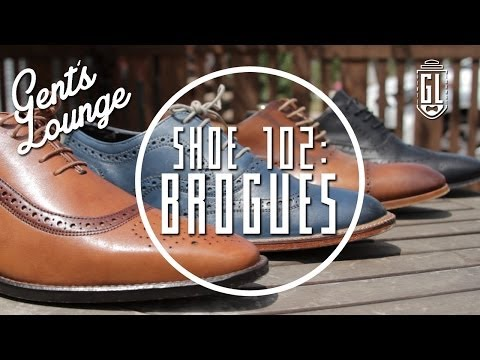 Shoe 102: Brogues