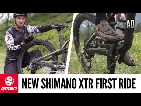 GMBN's First Ride On The New Shimano XTR | 12 Speed MTB Drivetrain