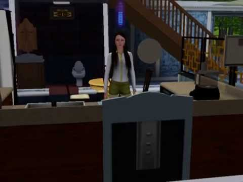 Sims Baking cookies