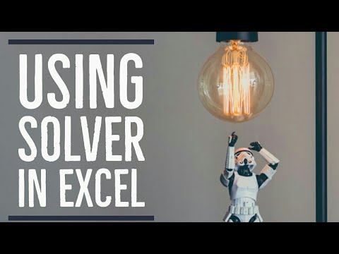 How to use Solver in Excel in Hindi - Simple and Easy