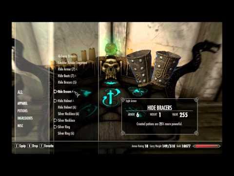 How to Min/Max in The Elder Scrolls: Skyrim