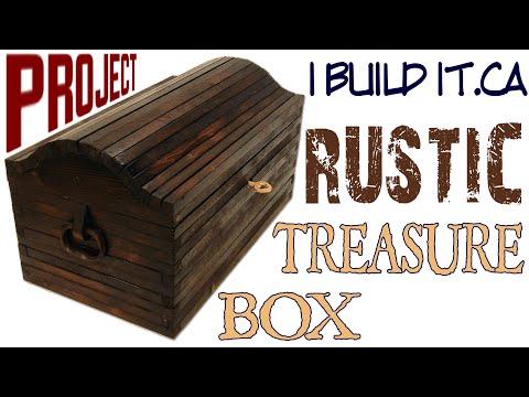 How To Make A Rustic Treasure Box
