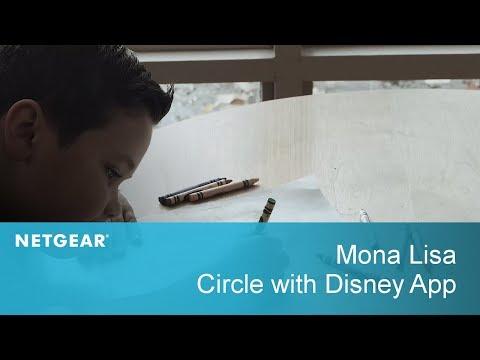 Mona Lisa   Circle with Disney