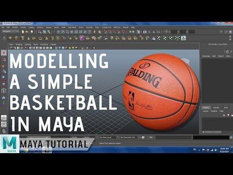 Modelling a Basketball in Maya | Beginners Modelling Tutorial