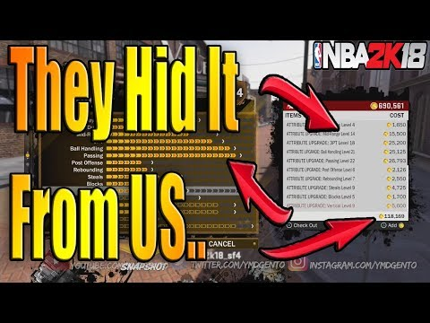 WATCH THIS BEFORE YOU MAX OUT YOUR MYPLAYER NBA 2K18 SECRET TO SPENDING VC