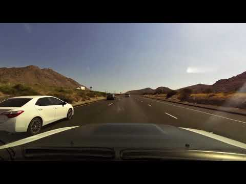 Time Lapse Drive Yuma, AZ to San Diego, CA 8.6.17