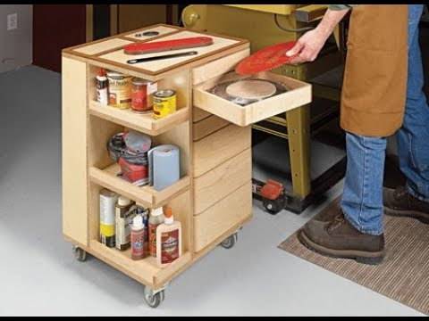 Project Overview: Swing Drawer Storage Cart
