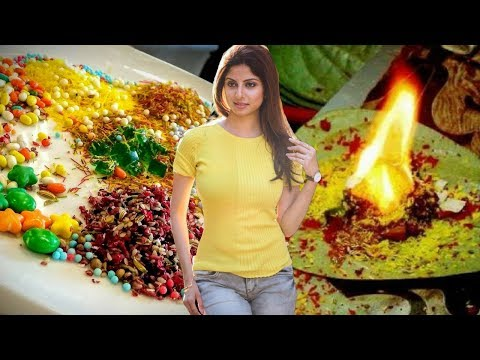 Top Best Pan Masala In Word- Burning Paan In Mumbai -Fire Paan Video - Meetha Pan Masala - Food Bank