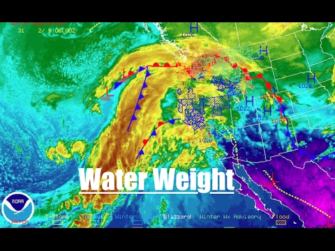 *DANGEROUS* storm has SEVEN states under warnings | Massive weight transfer!