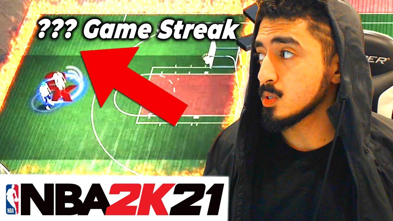 I GOT MY BIGGEST WIN STREAK EVER in NBA 2K21 (UNBELIEVABLE!)