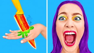 TOO COOL FOR SCHOOL || What to Do When You're HOME ALONE! Funny Pranks and Tricks by 123 GO! SCHOOL