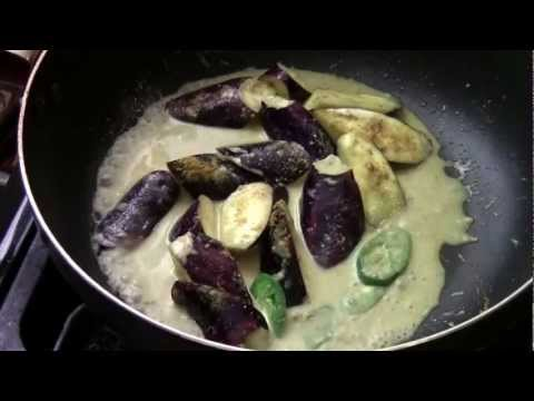 HOW TO MAKE ASIAN BASIL CURRY EGGPLANT