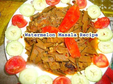 watermelon masala recipe in hindi english
