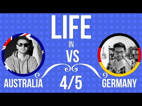 Living Environment in Australia vs Germany: Nature, Weather, People and Community (4/5)