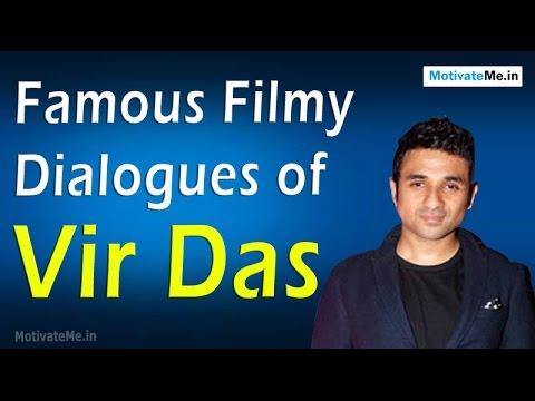 Famous Filmy Dialogues of Vir Das