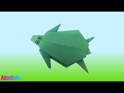 How to make Origami : Turtle
