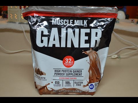 MUSCLE MILK MASS GAINER REVIEW & TIPS
