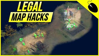 Age of Empires 4 - This Landmark gives LEGAL Map Hacks