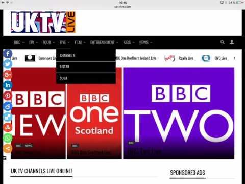 Watch UK TV Live Online Free